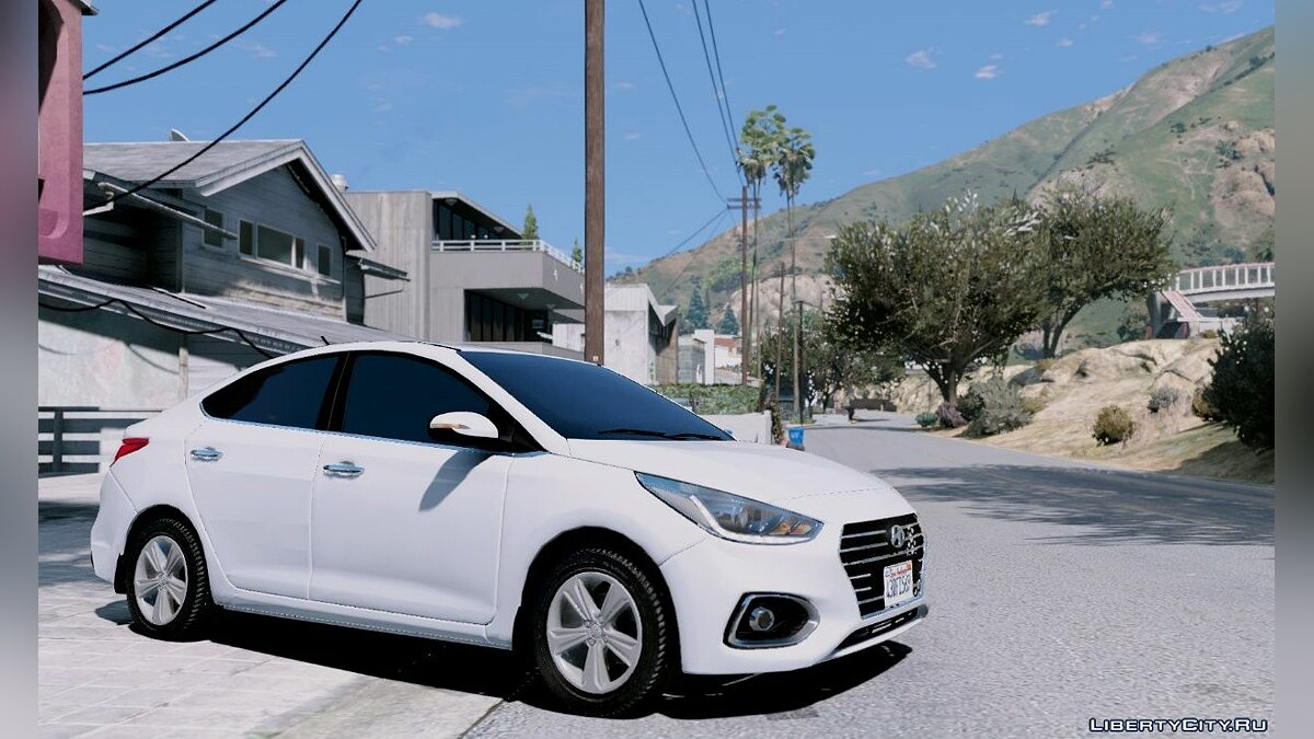 Машина Hyundai Hyundai Accent 2018 [Replace] для GTA 5