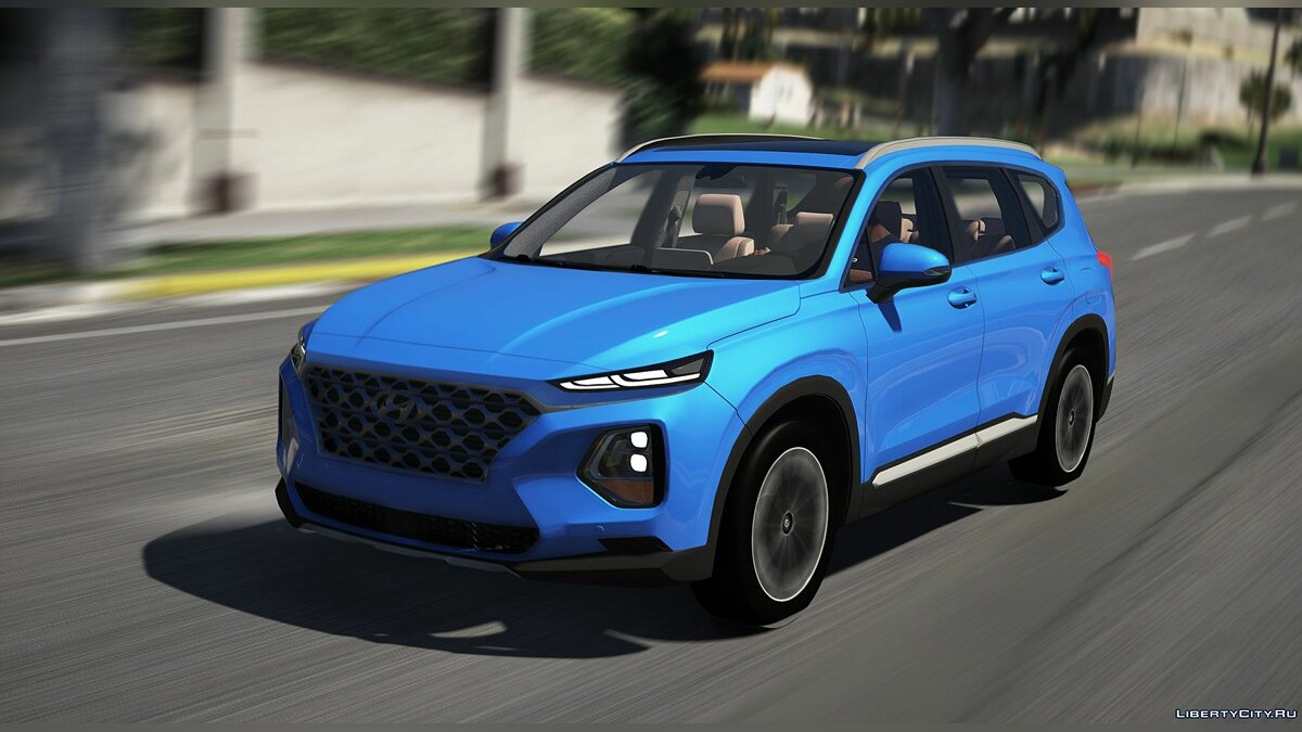 Машина Hyundai Hyundai Santa Fe 2019 [Add-On] 1.0 для GTA 5