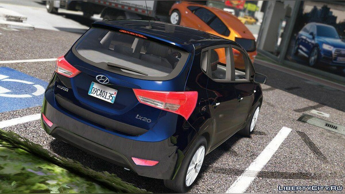 Машина Hyundai Hyundai ix20 (Add-on / Wipers) 1.0 для GTA 5