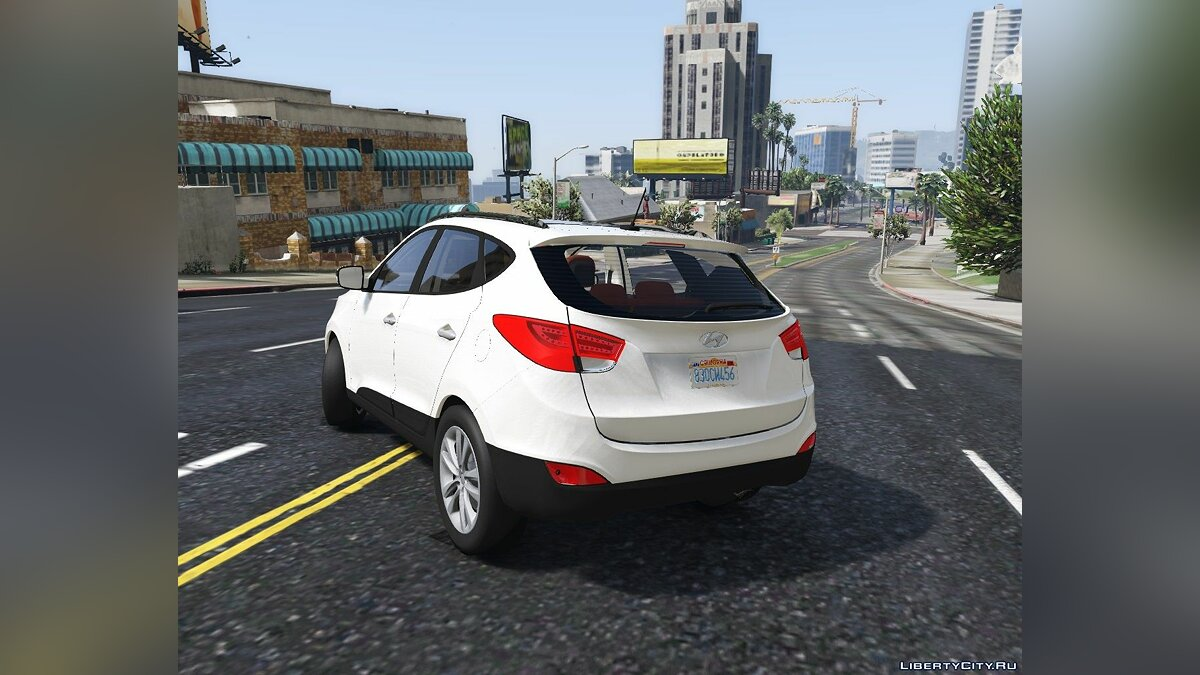 Машина Hyundai Hyundai IX35 2012 (Add-on) 1.0 для GTA 5
