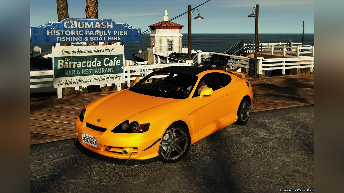 Машина Hyundai Hyundai Tiburon Coupe V6 [Add-On | Tuning | Template] 1.0 для GTA 5