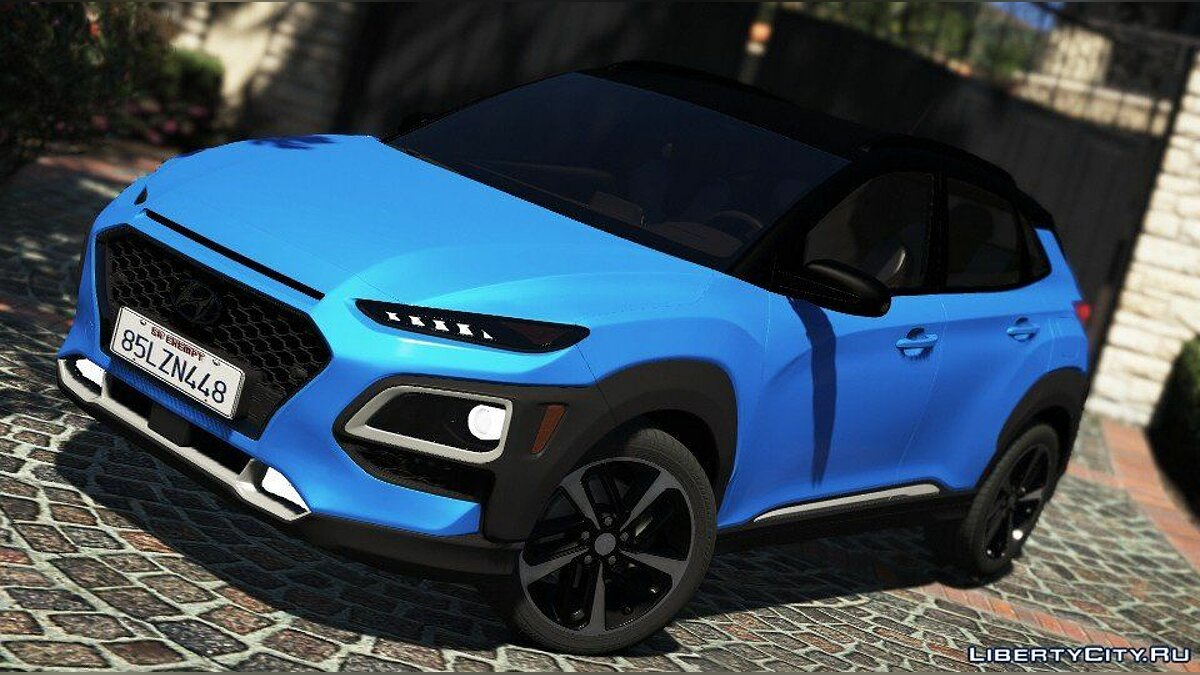 Машина Hyundai Hyundai Kona 2018 [Add-On] для GTA 5