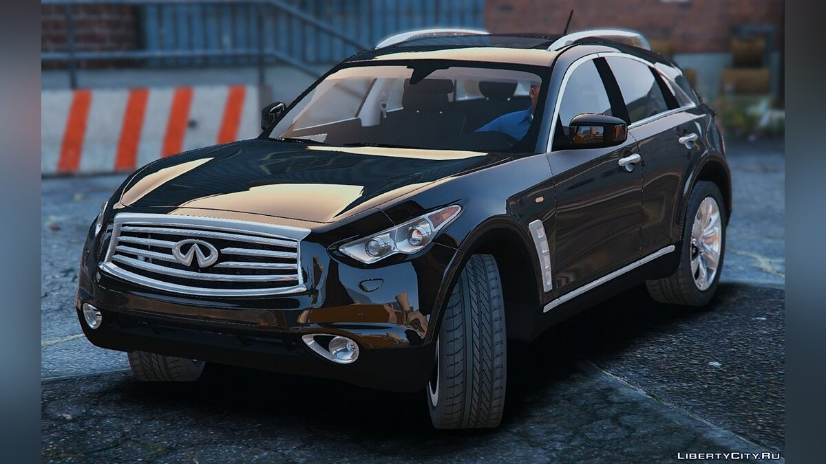 Машина Infinity Infiniti FX50S [Add-On / Replace] 1.0 для GTA 5