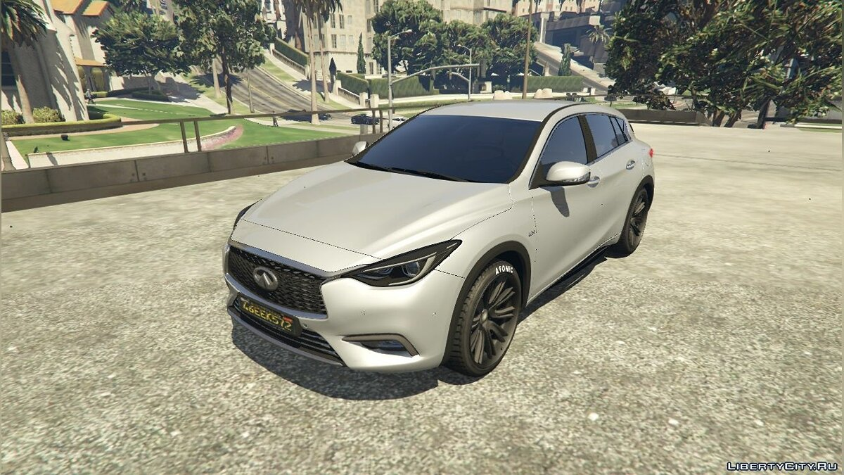 Машина Infinity 2016 Infiniti Q30 [Add-On / Replace] 1.1 для GTA 5