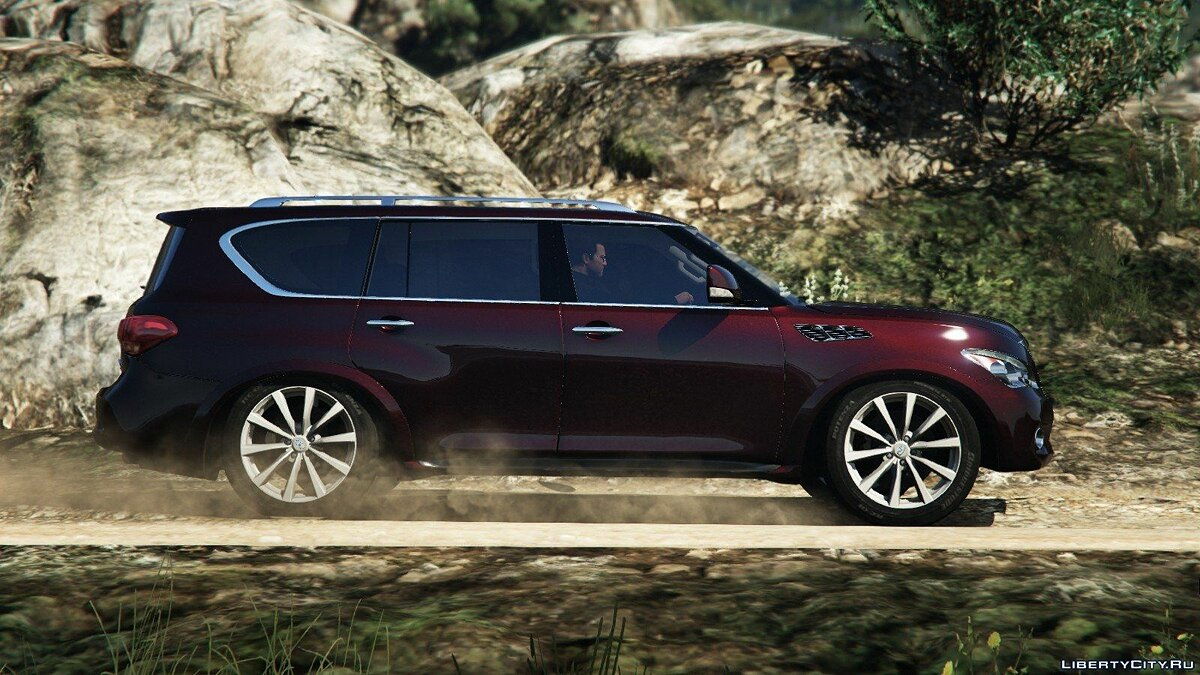 Infiniti QX56 [Add-On/Replace] для GTA 5 - скриншот #7