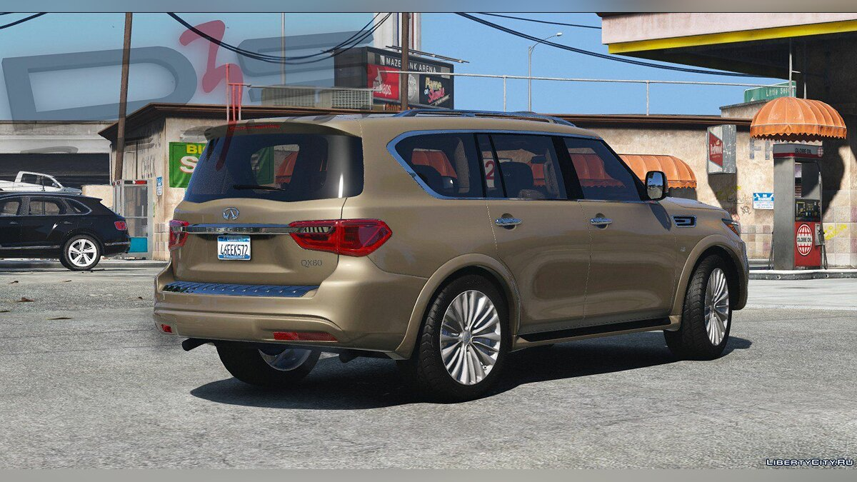 Машина Infinity Infiniti QX80 '2018 [Add-On | AO | Template] 1.0.2907 для GTA 5