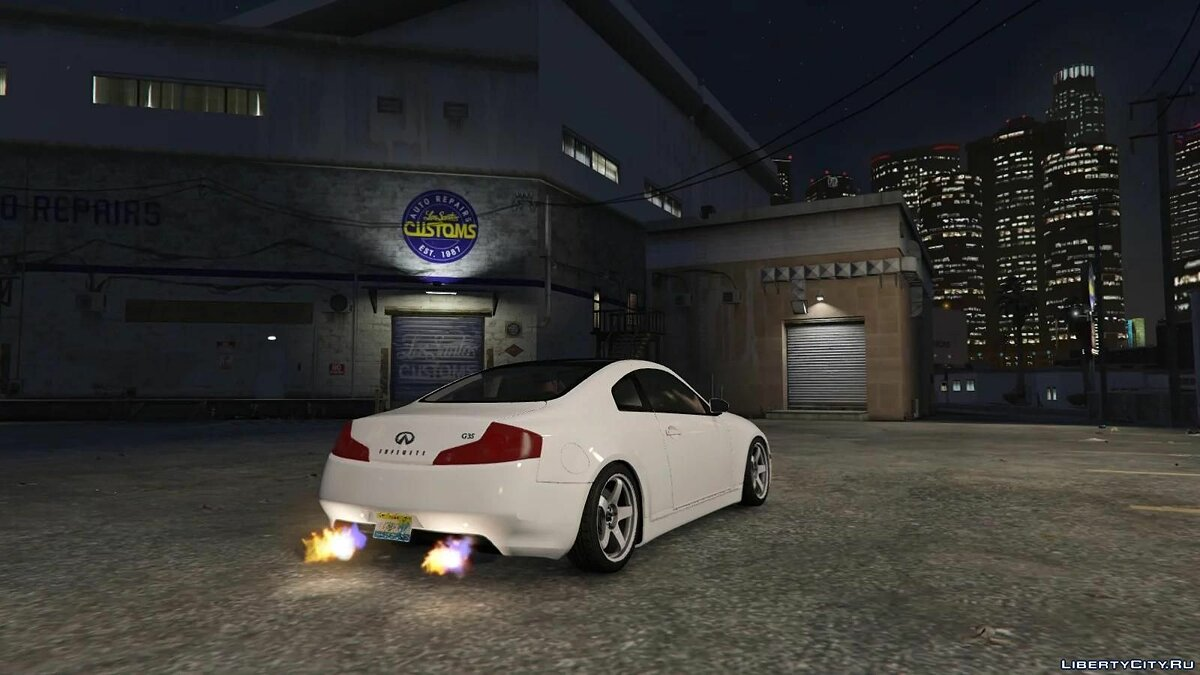 Машина Infinity Infiniti G35 Coupe 2003 [Add On |Tuning ] 1.0 для GTA 5
