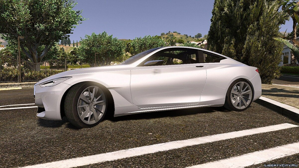 Infiniti Q60 Concept 2016 [Replace/Unlocked] 1.0 для GTA 5 - скриншот #3