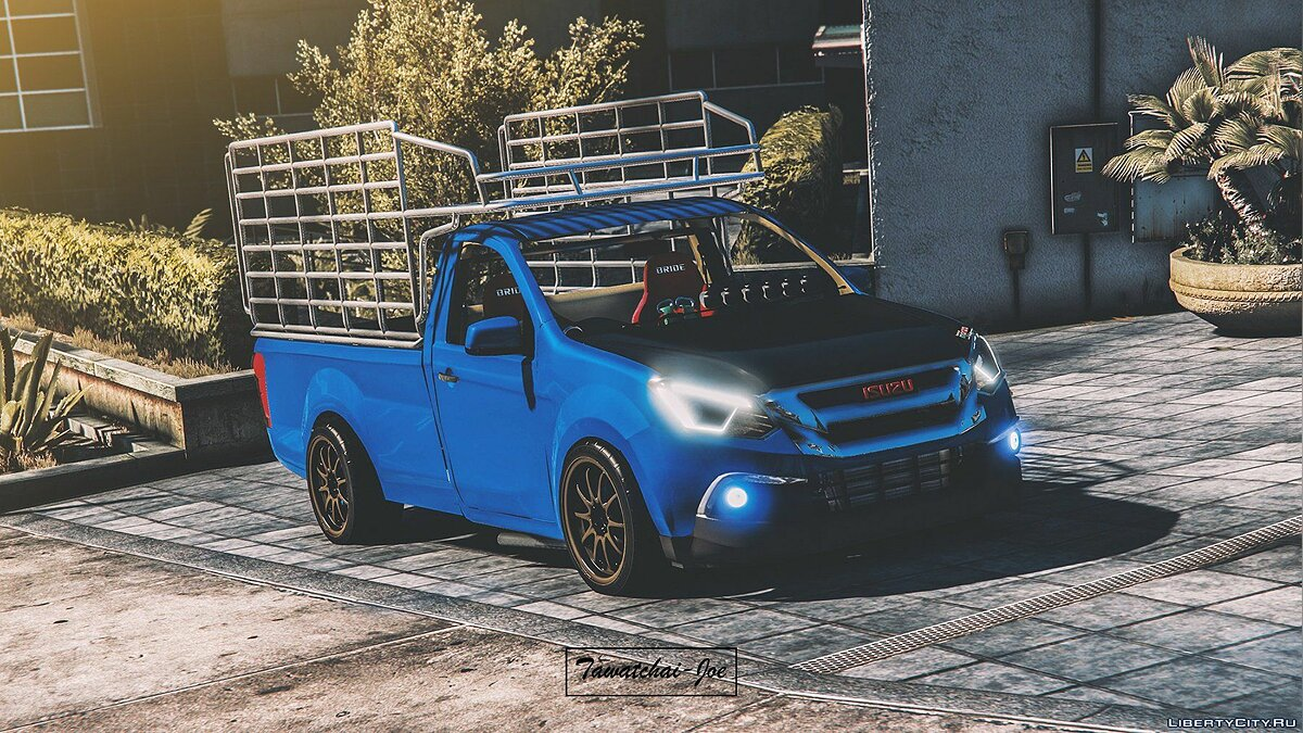 Машина Isuzu Isuzu D-MAX+Mu-x [Add-On /Tuning/Template] для GTA 5
