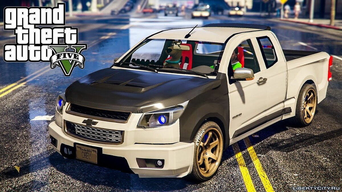 Isuzu D-MAX [Replace] 1.2 для GTA 5