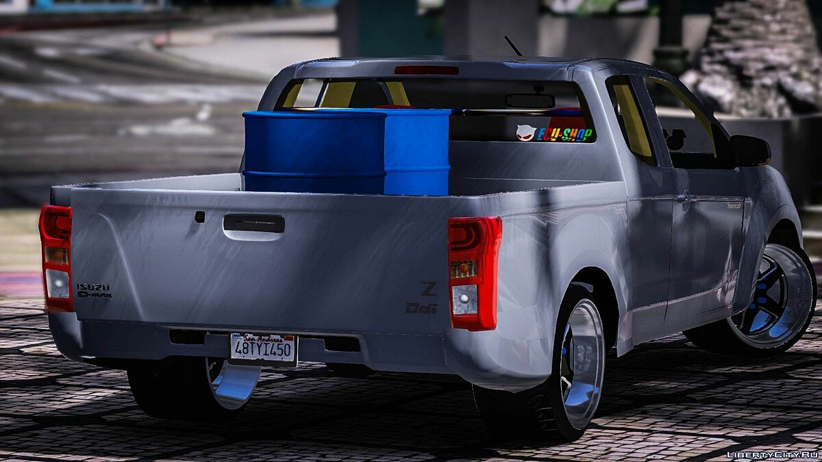 Машина Isuzu ISUZU D-Max [Tuning] (Replace) 1.0 для GTA 5