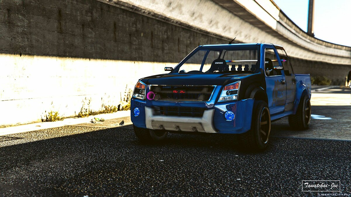 Машина Isuzu Isuzu D-max Hi Lander 2010 [Add-On /Tuning/Template] 1.0 для GTA 5