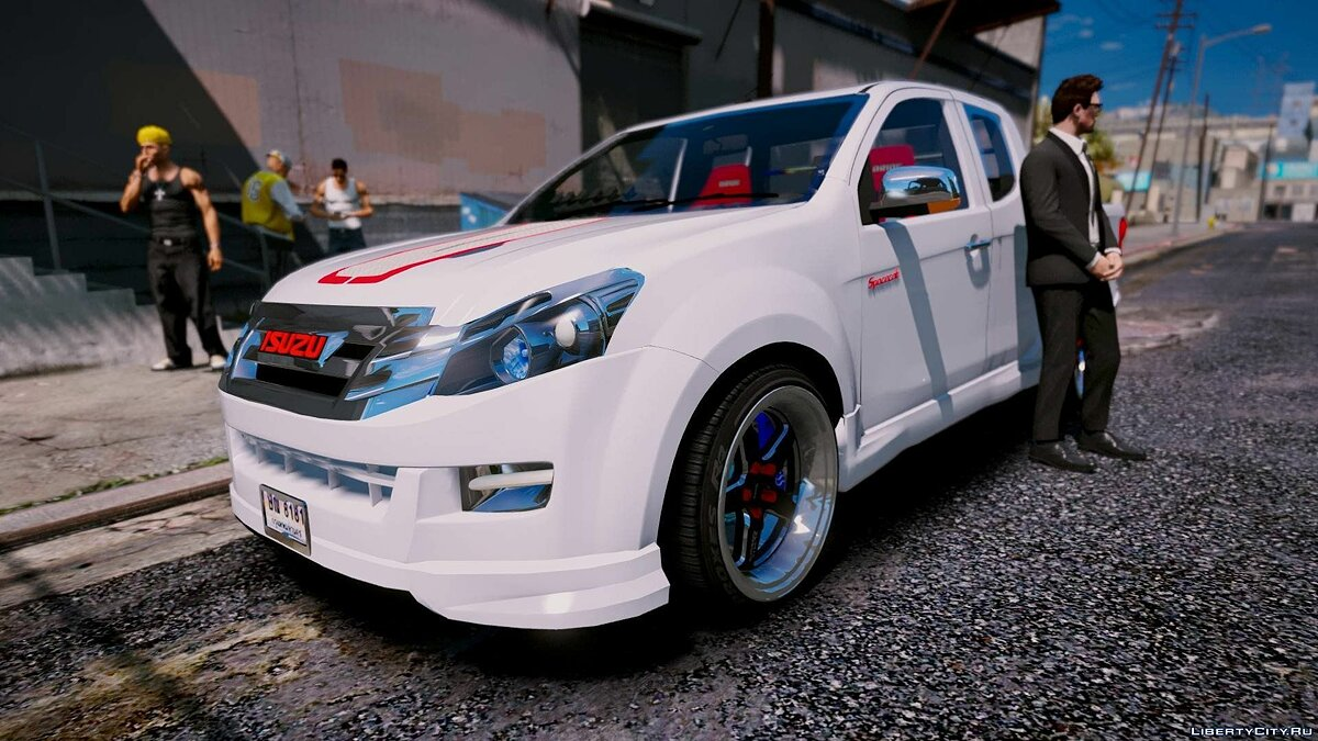 Машина Isuzu Isuzu D-Max X-Series 2015 [Add-On] для GTA 5