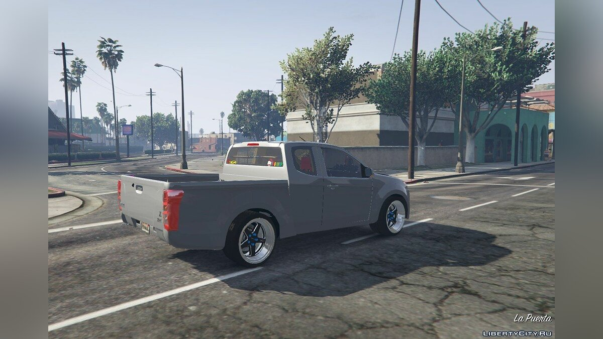 Машина Isuzu Isuzu D-Max 2014 (Asia Thailand) [Add-On / Replace] 1.3 для GTA 5
