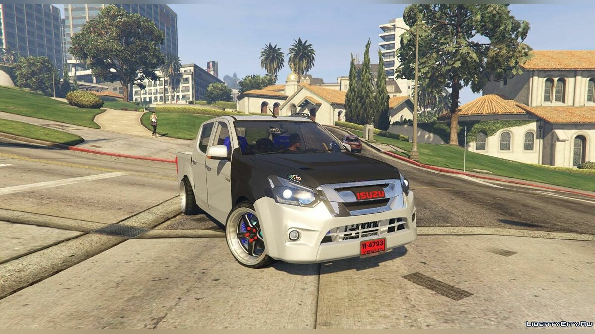 Машина Isuzu Isuzu D-MAX Blue Power 1.9 2016 [Add-On] для GTA 5