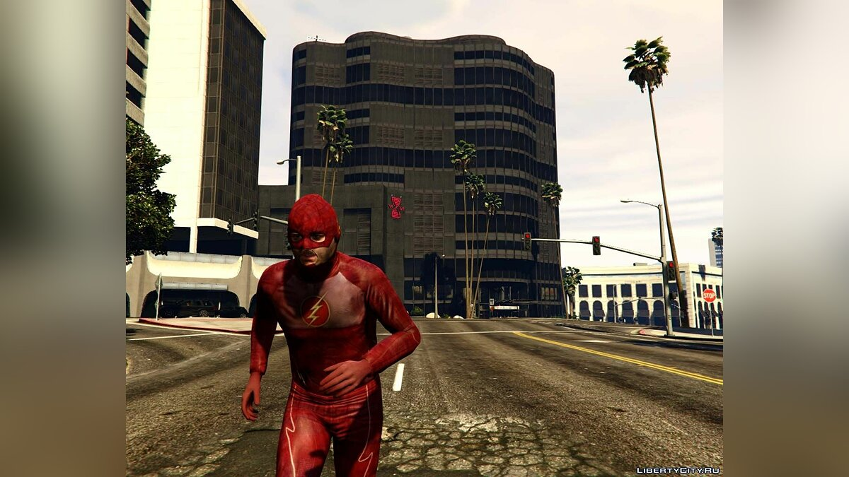 Куртка или костюм The Flash Suit (series) для GTA 5