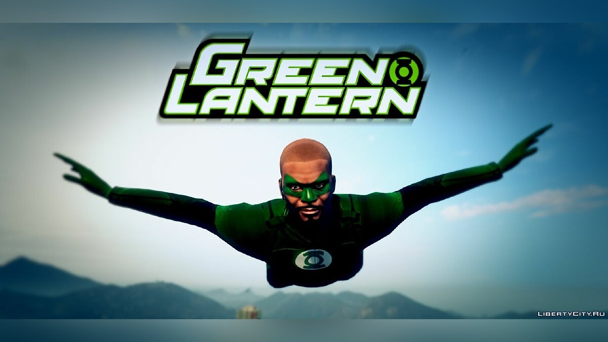Green Lantern - Franklin для GTA 5