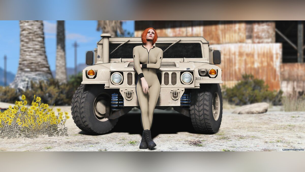 Куртка или костюм Military Jumpsuit for MP Female для GTA 5