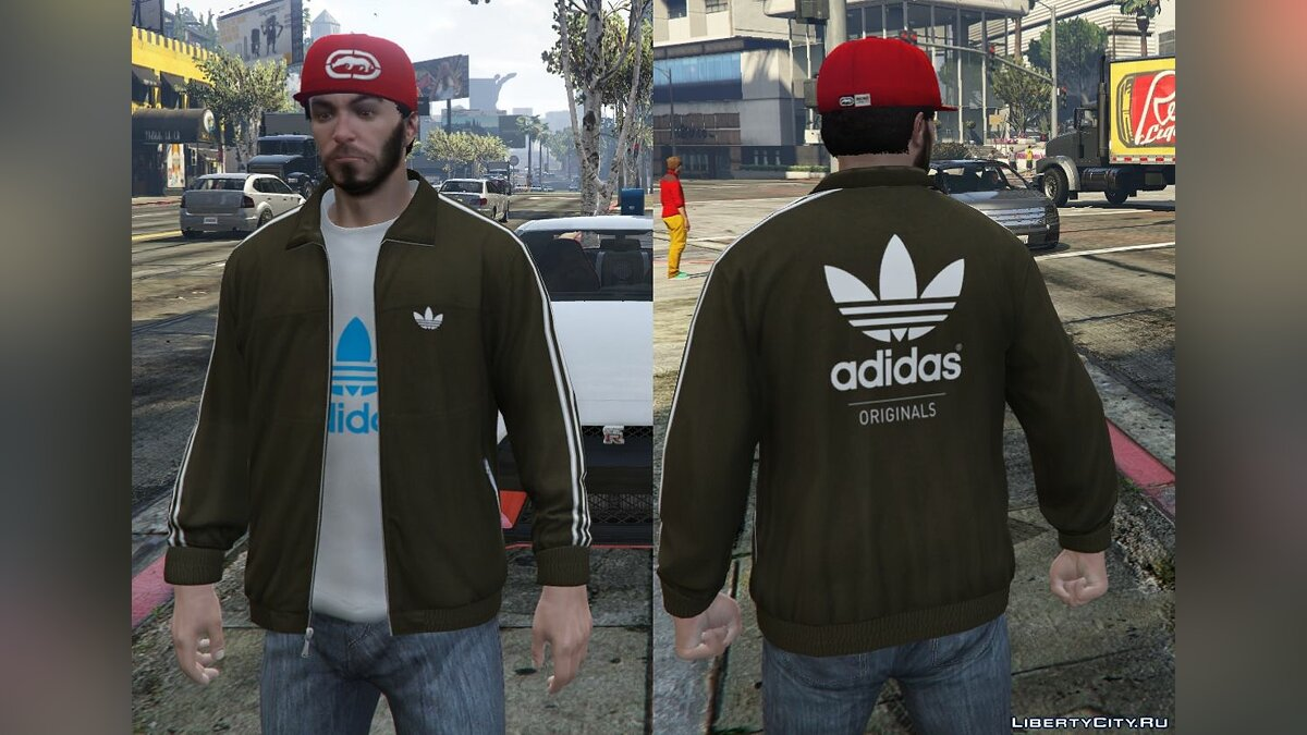 Adidas Originals Jackets Pack for Franklin для GTA 5