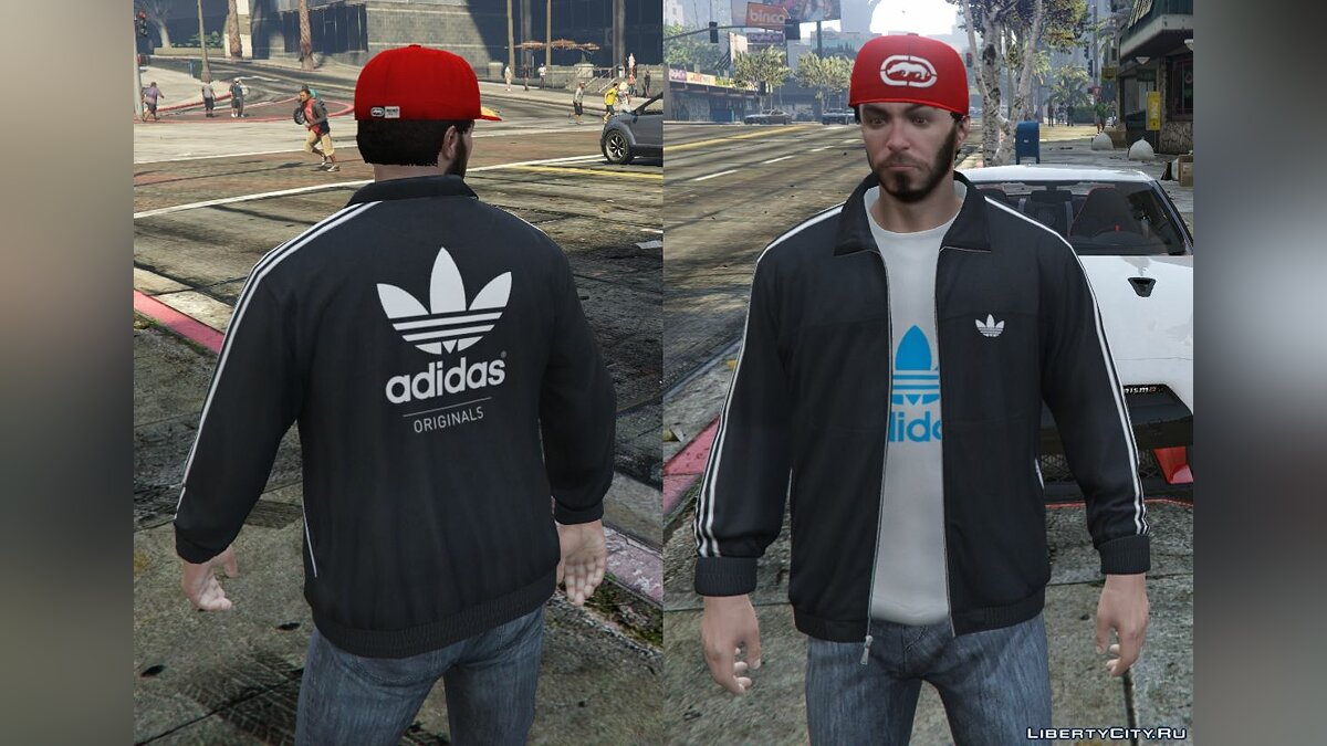 Adidas Originals Jackets Pack for Franklin для GTA 5 - скриншот #4