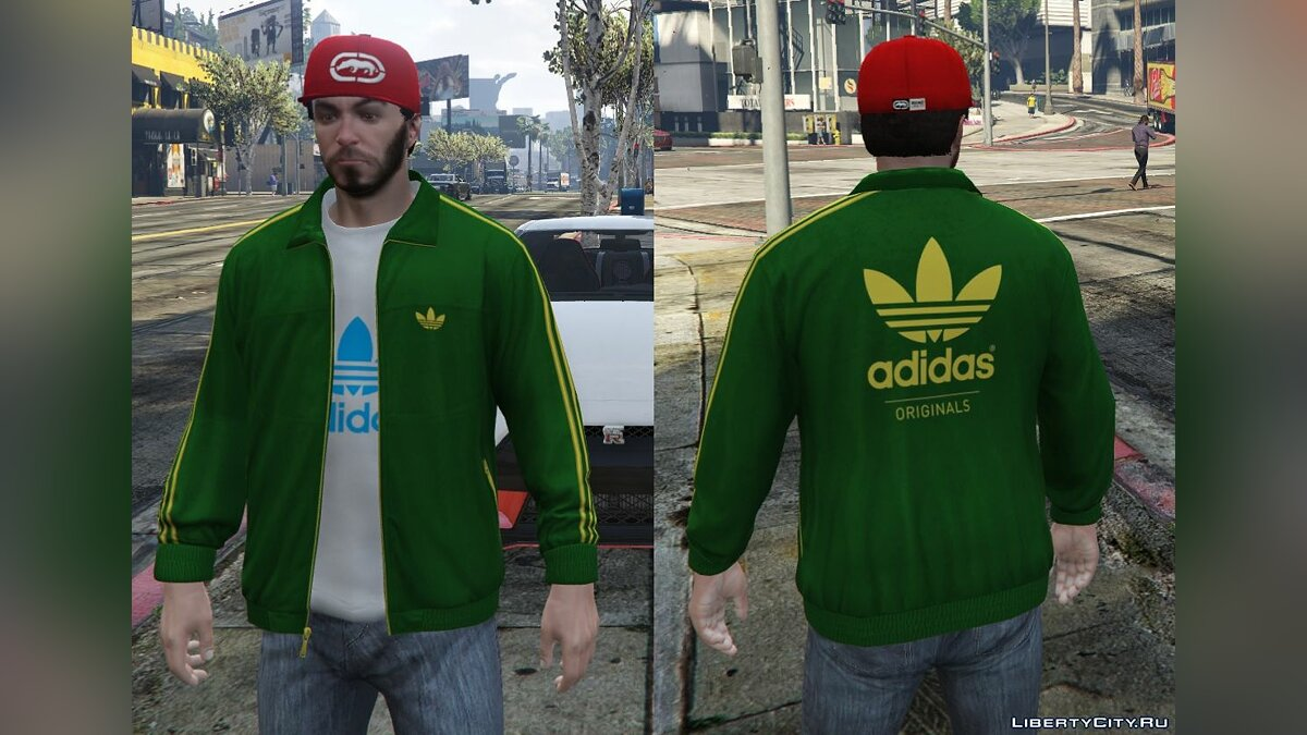 Adidas Originals Jackets Pack for Franklin для GTA 5 - скриншот #5