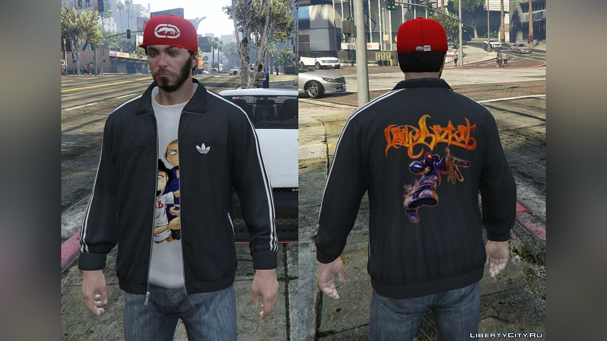 Adidas Originals Jackets Pack for Franklin для GTA 5 - скриншот #6