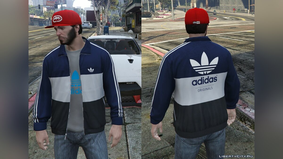 Adidas Originals Jackets Pack for Franklin для GTA 5 - скриншот #8
