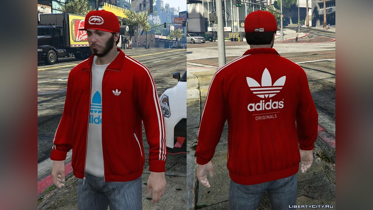 Adidas Originals Jackets Pack for Franklin для GTA 5 - скриншот #9