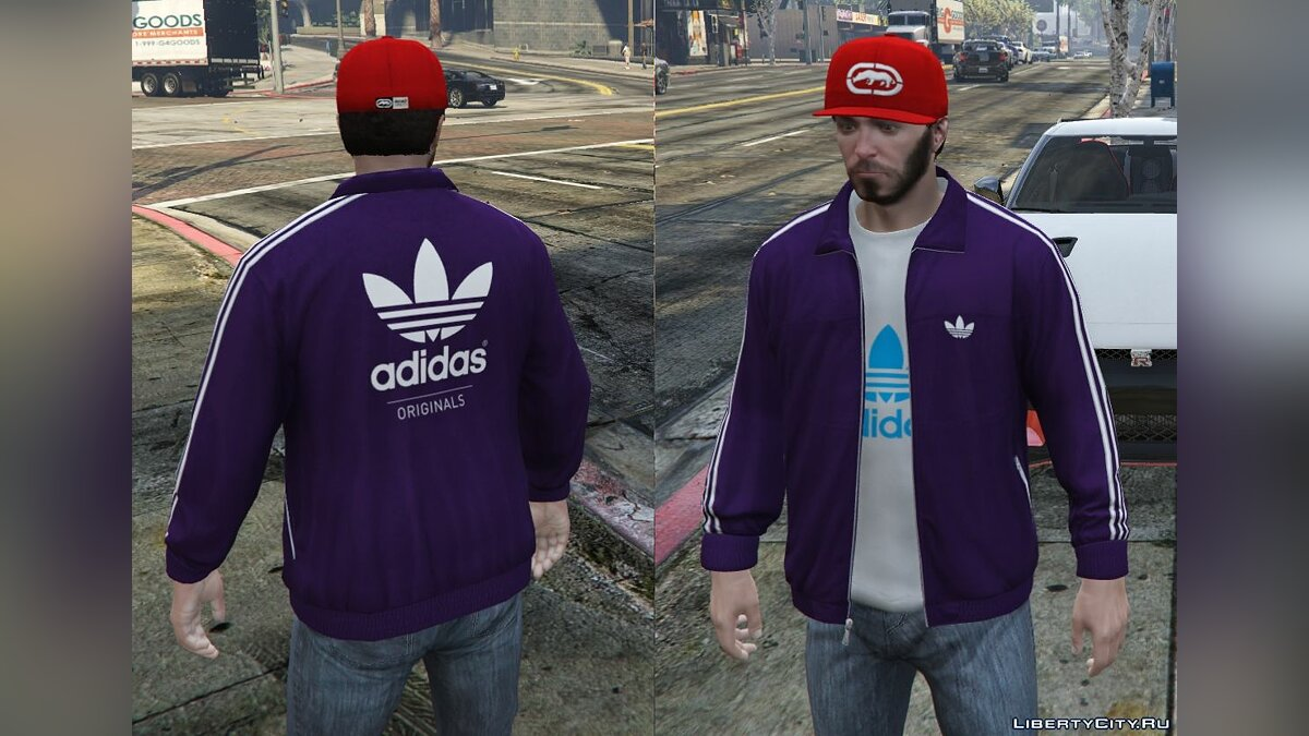 Adidas Originals Jackets Pack for Franklin для GTA 5 - скриншот #10