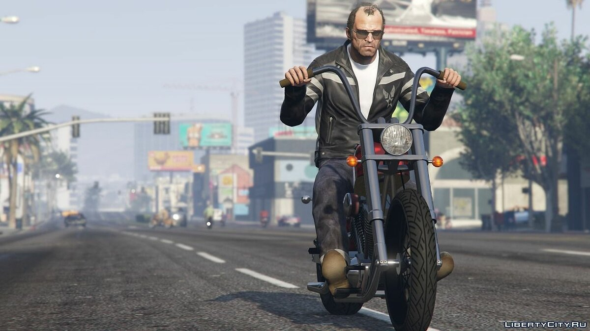 Avirex Jacket для Тревора для GTA 5