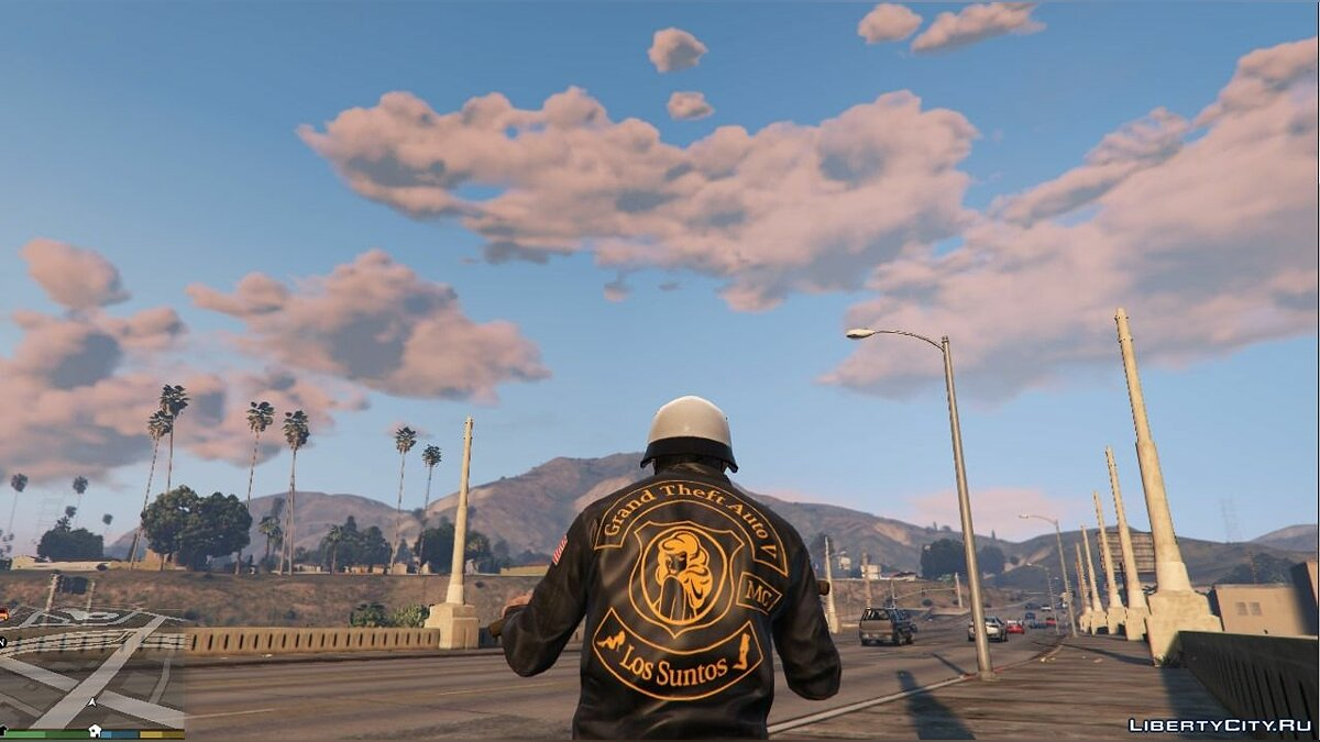 GTA V Racing Jacket for Trevor для GTA 5