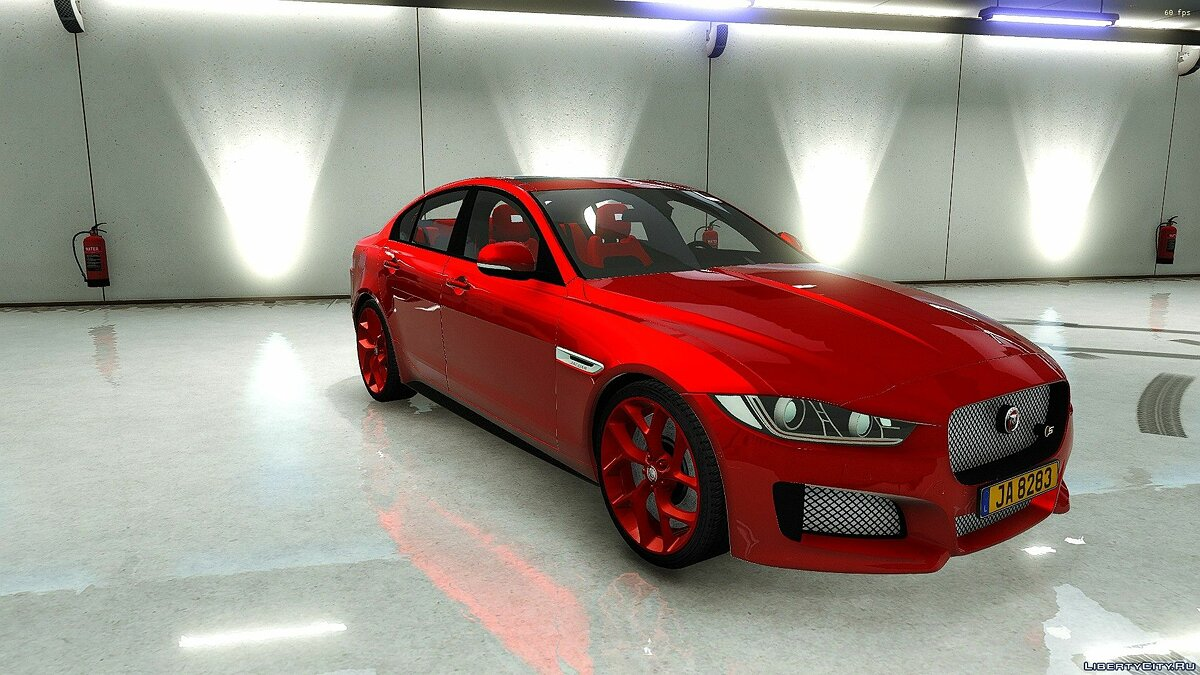 Машина Jaguar Jaguar XE [ADD-ON] 1.0 для GTA 5
