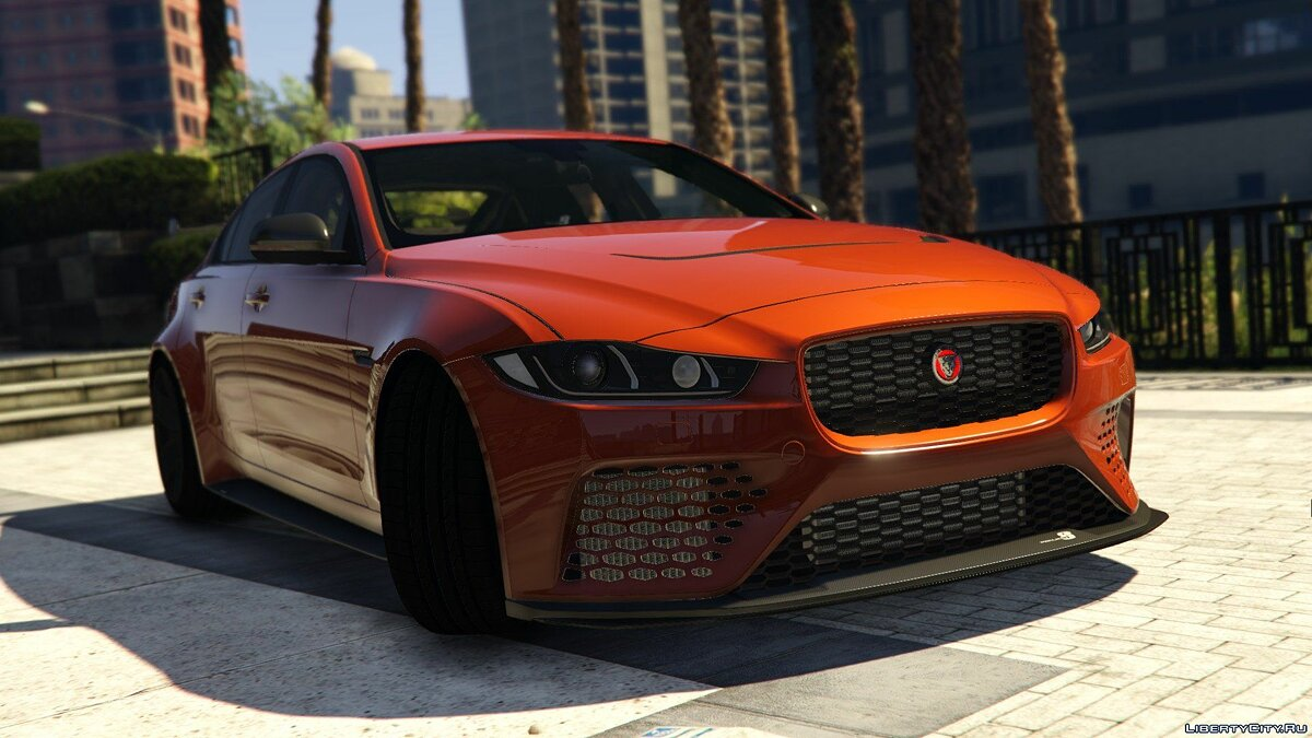 Машина Jaguar Jaguar XE SV Project8 [Add-On | Unlocked] 1.0 для GTA 5