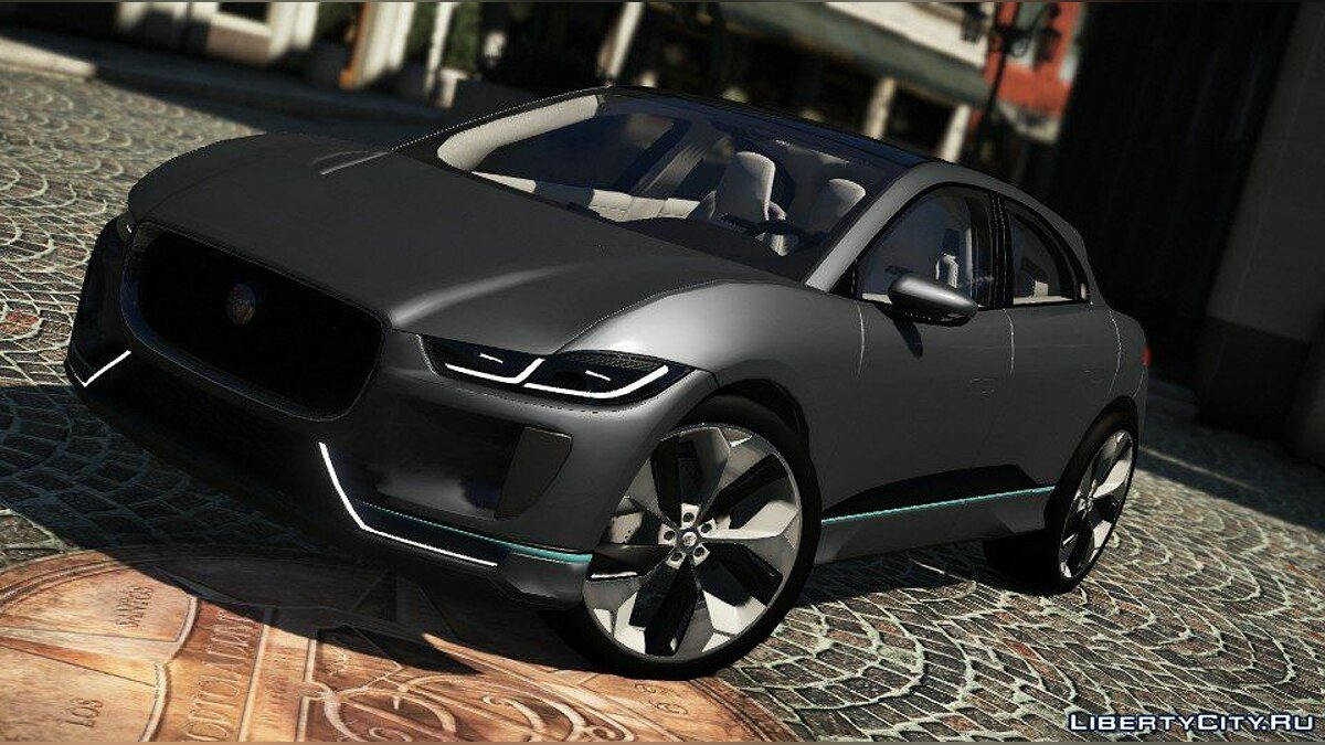Машина Jaguar Jaguar I-Pace 2016 [Add-On] для GTA 5