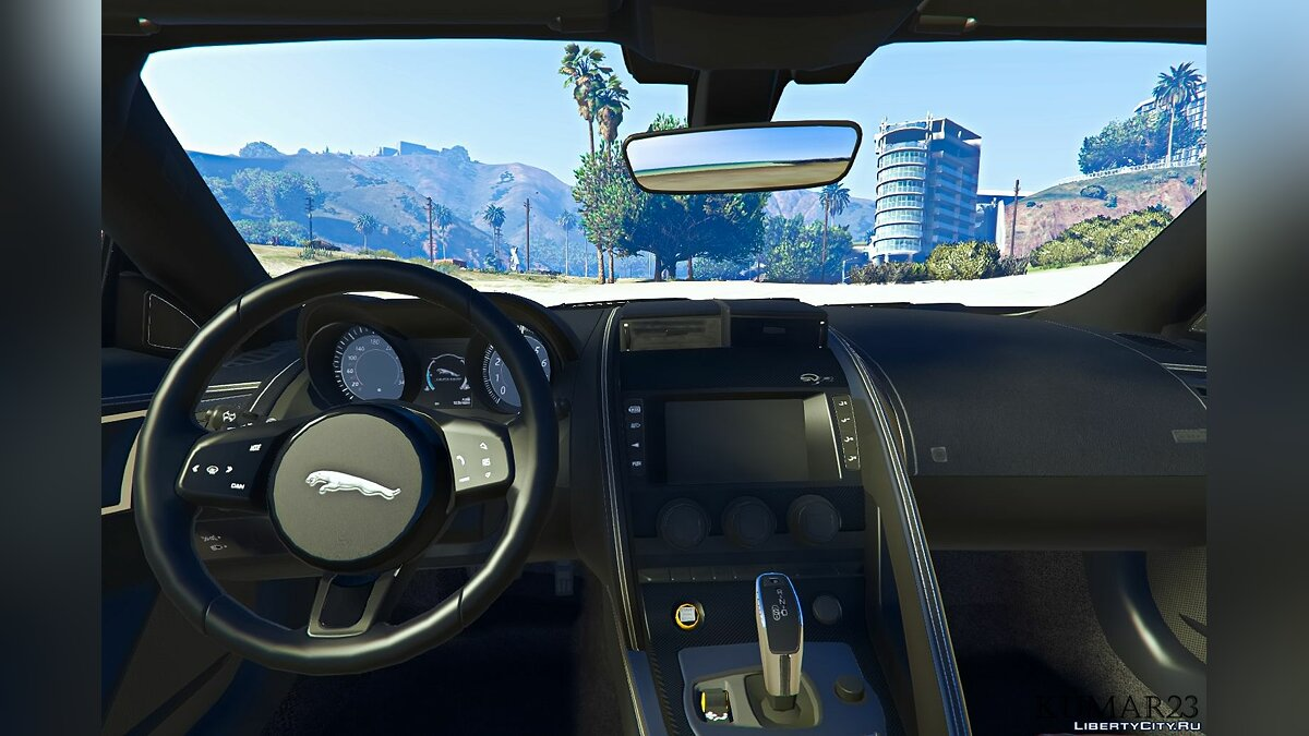 Машина Jaguar Jaguar F-Type [Add-On] 1.0 для GTA 5