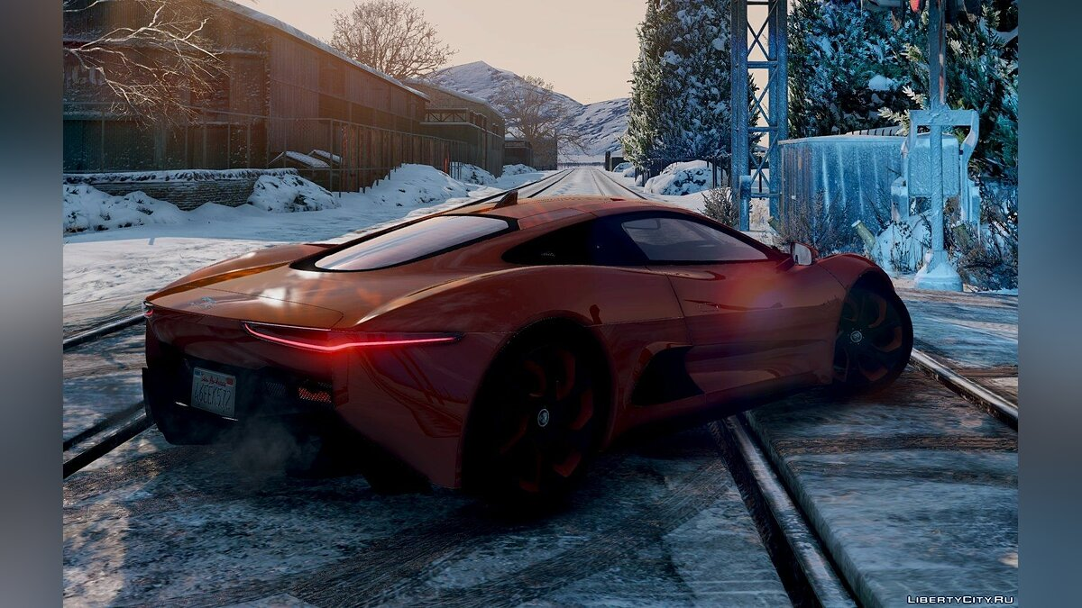 Jaguar C-X75 [Add-On] BETA для GTA 5