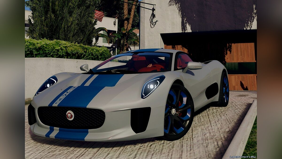 Jaguar C-X75 [Add-On] BETA для GTA 5 - скриншот #2