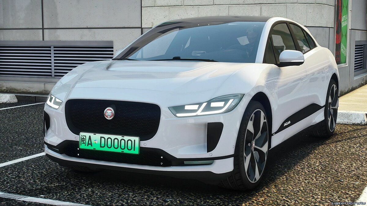 Машина Jaguar Jaguar I-Pace[Add-On] 1.0 для GTA 5