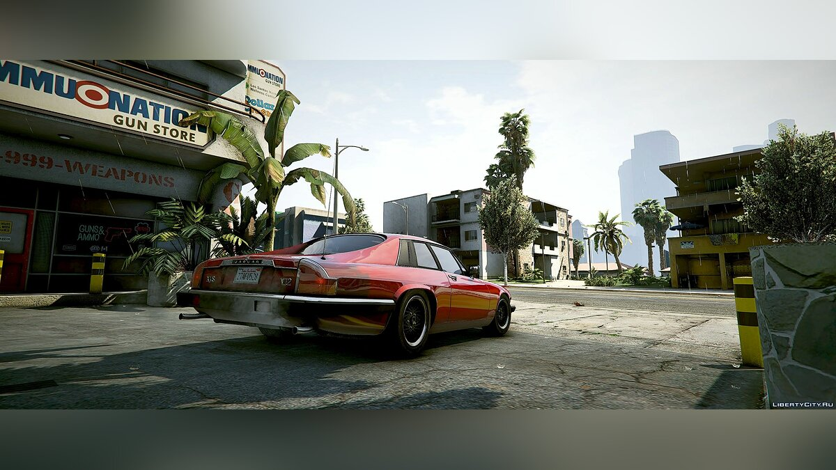 Машина Jaguar Jaguar XJS [Add-On | LODs | Extra Wheels] 2.0 для GTA 5