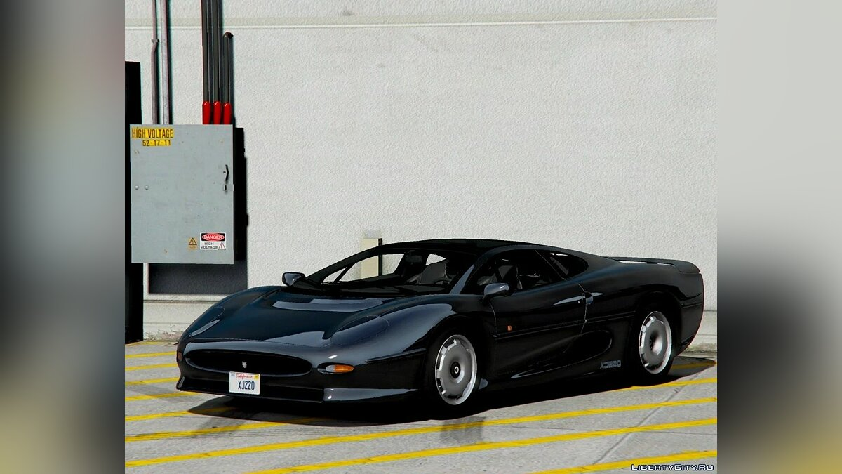 Машина Jaguar Jaguar XJ220 1992-1994 [Add-On | Extras | Template] 1.0 для GTA 5