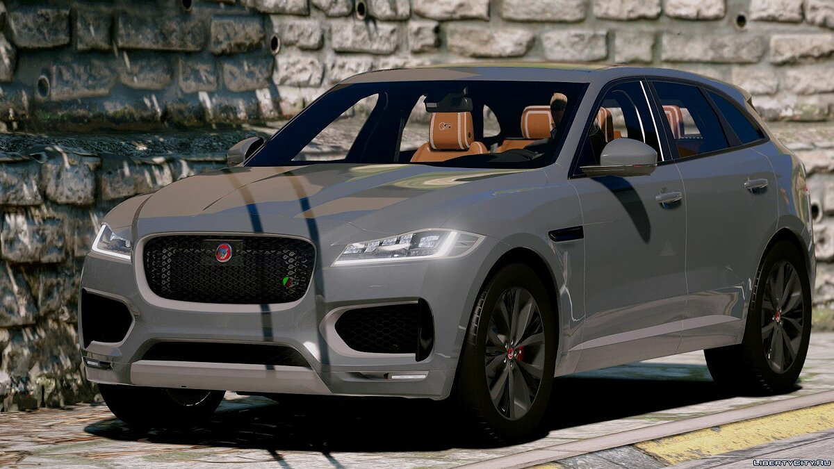 Jaguar F-pace 2017 [Add-on] 1.2 для GTA 5 - скриншот #2