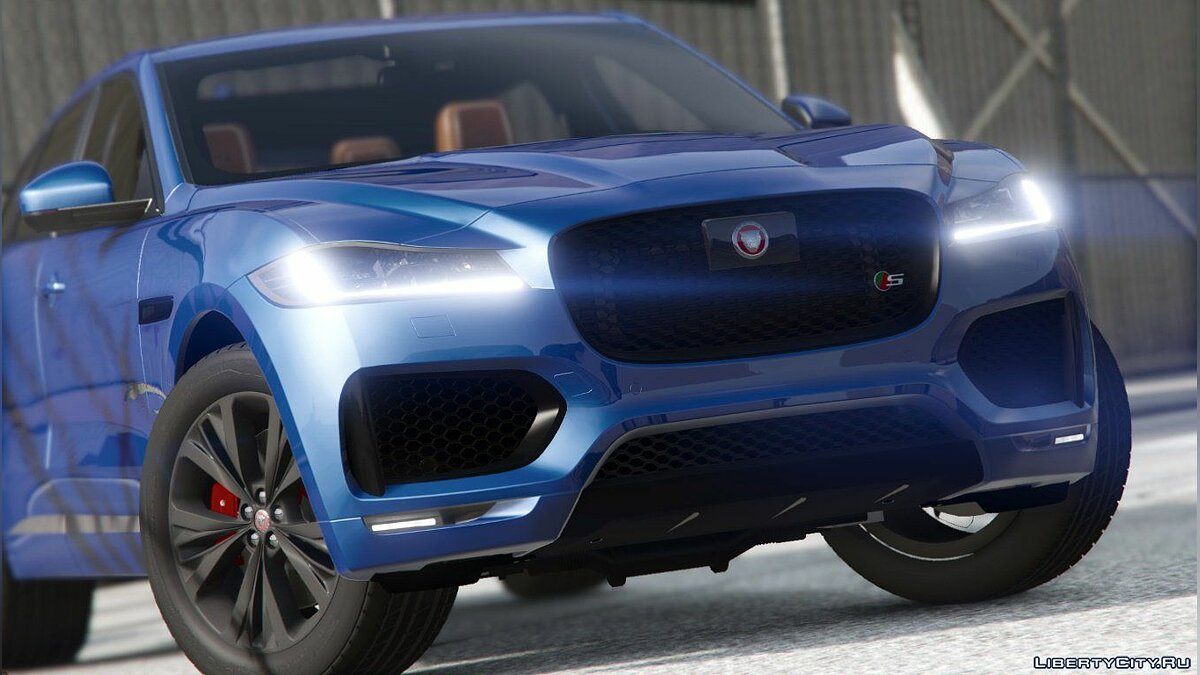 Jaguar F-pace 2017 [Add-on] 1.2 для GTA 5 - скриншот #4