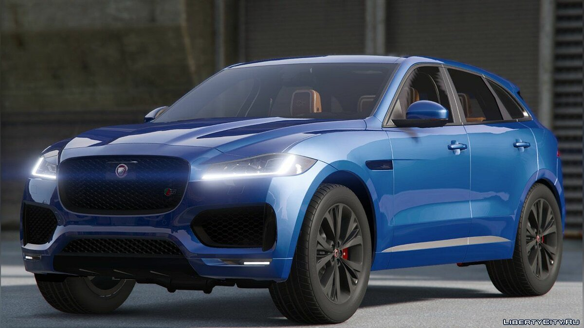 Машина Jaguar Jaguar F-pace 2017 [Add-on] 1.2 для GTA 5