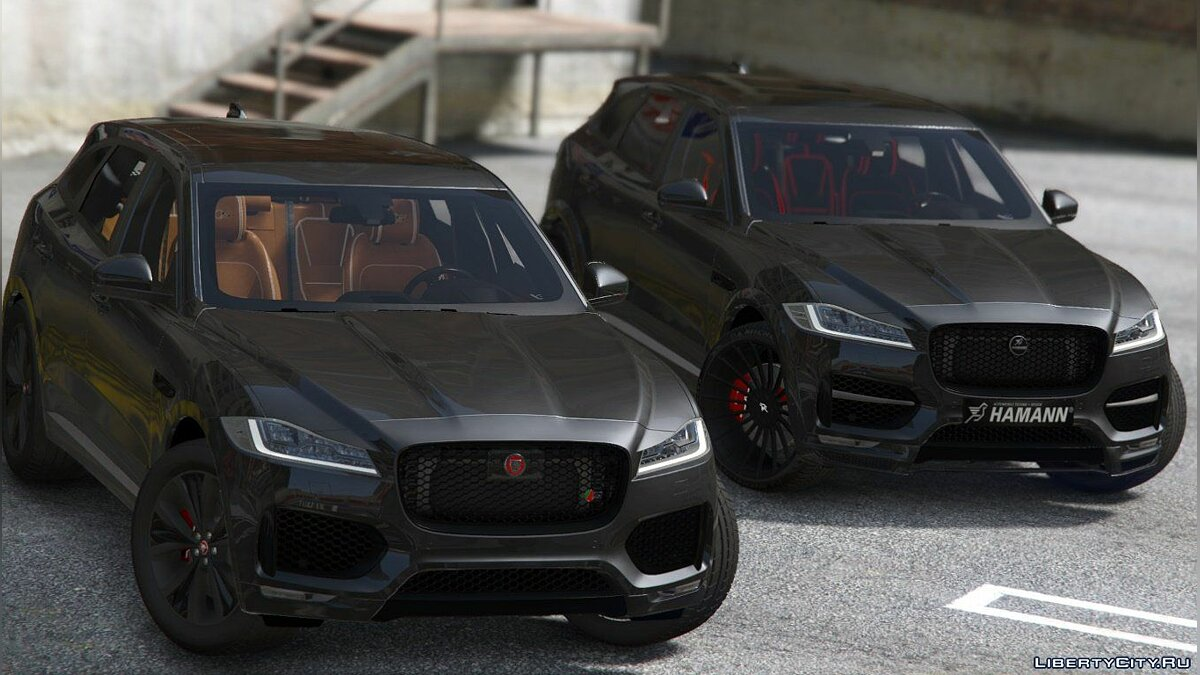 Jaguar F-pace 2017 [Add-on] 1.2 для GTA 5 - скриншот #9