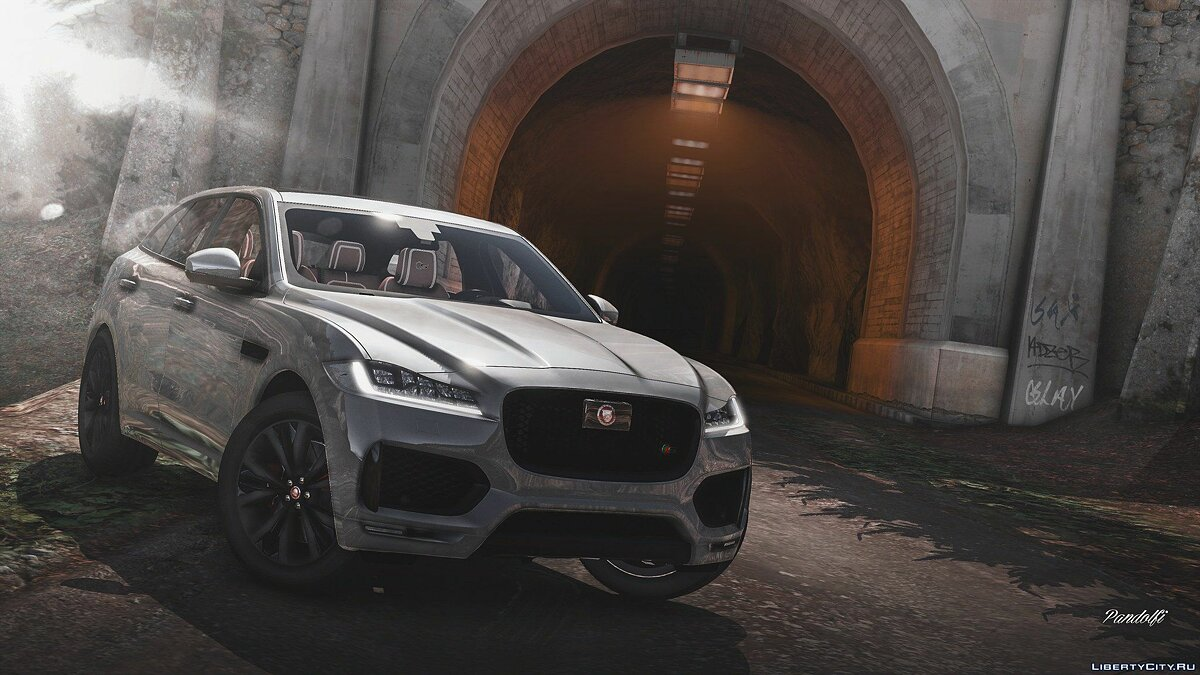 Машина Jaguar Jaguar F-pace 2017 [Add-on] 1.1 для GTA 5