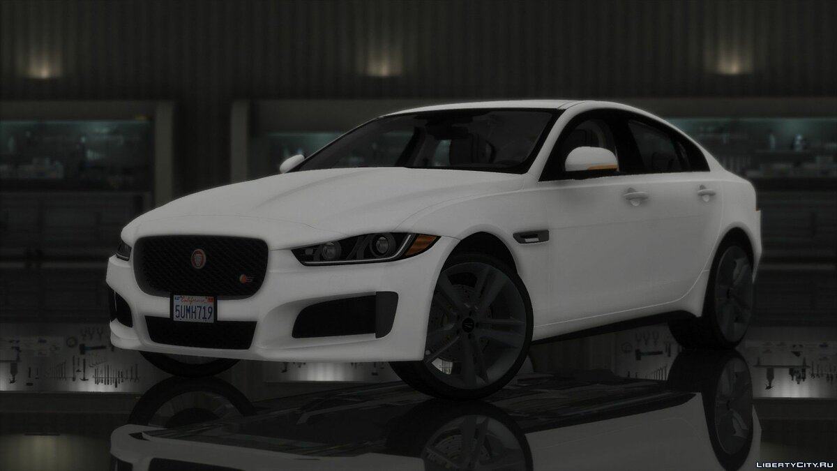 Машина Jaguar Jaguar XE S 2017 [Replace/HQ] 1.0 для GTA 5