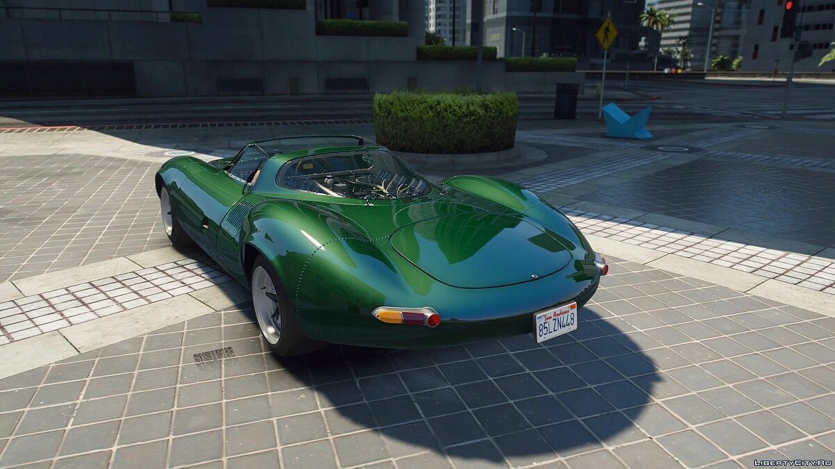 Машина Jaguar Jaguar XJ13 [Add-On] 1.0 для GTA 5