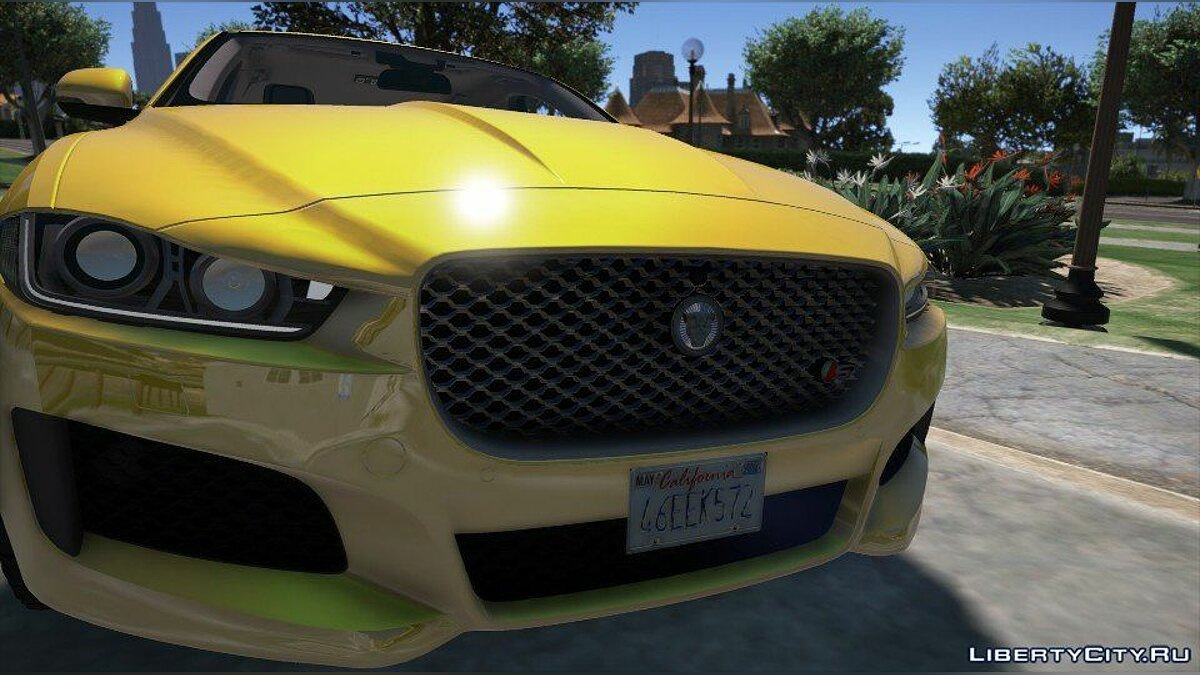 Машина Jaguar Jaguar XE-S (Add-on/Replace) 1.1 для GTA 5