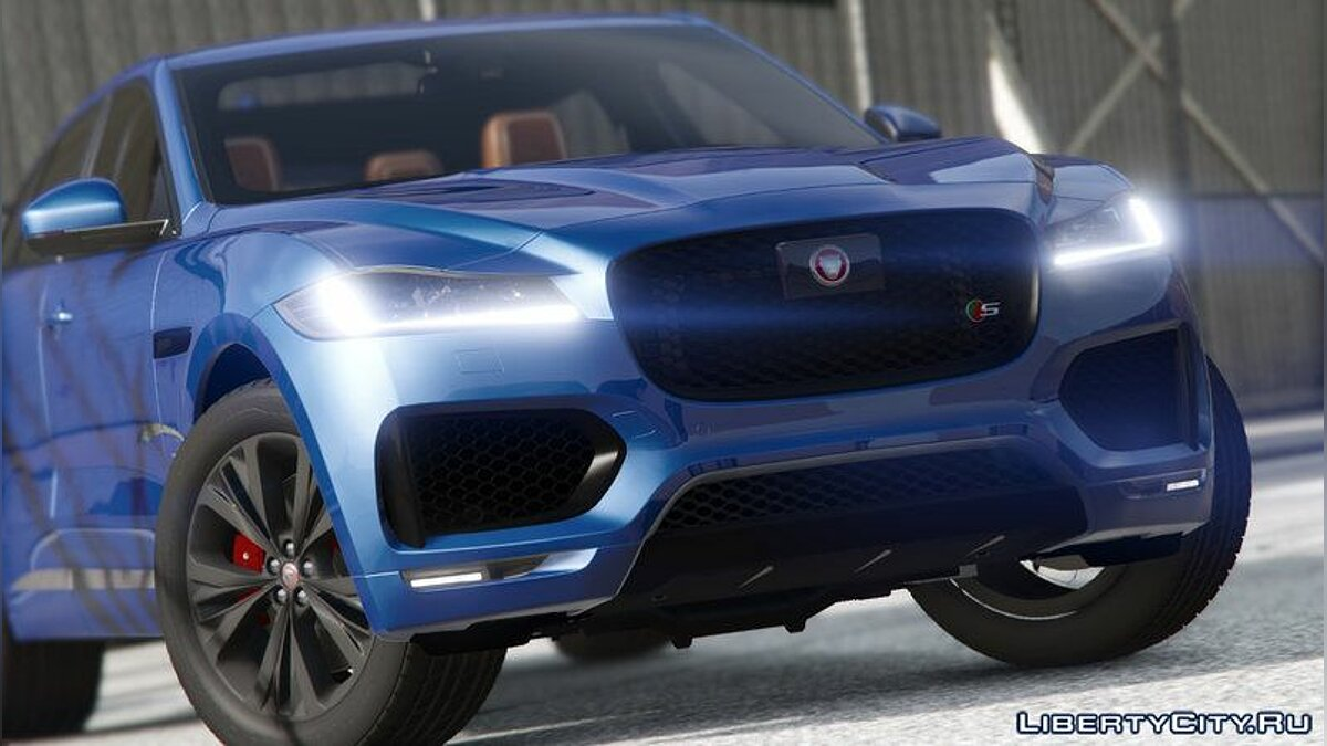 Машина Jaguar Jaguar F-pace 2017 [Add-on]1.0 для GTA 5