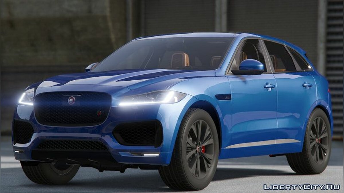 Jaguar F-pace 2017 [Add-on]1.0 для GTA 5